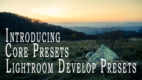 Free Lightroom Develop Presets